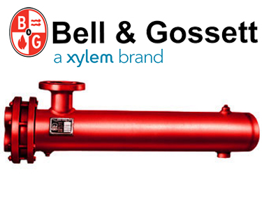 Bell & Gossett Steam to Water - U-Tube Heat Exchanger