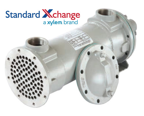 ITT Standard Xchange B300S Complete Heat Exchanger for Steam Service